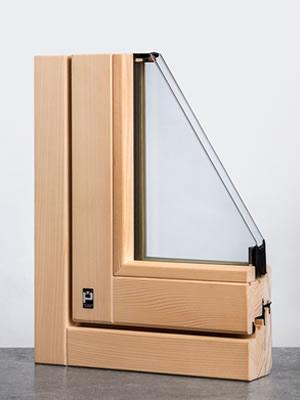 Lineabio serramento accoya angolo interno